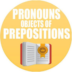 Pronouns as objects of prepositions in spanish